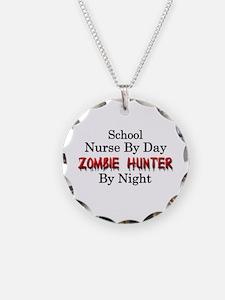 School Nurse/Zombie Hunter Necklace