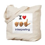 Interpreter Canvas Bags