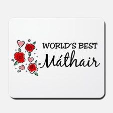 WB Mom [Irish] Mousepad