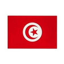 Tunisia Flag Rectangle Magnet