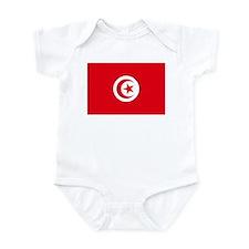 Tunisia Flag Infant Bodysuit