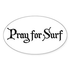 Pray for Surf Decal