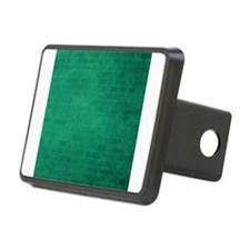 Green brick texture Hitch Cover