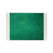 Green brick texture Magnets