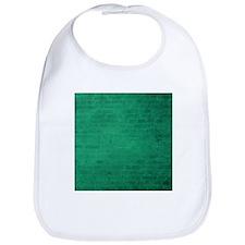 Green brick texture Bib