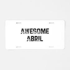 I1115061926411.png Aluminum License Plate