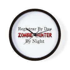 Registrar/Zombie Hunter Wall Clock