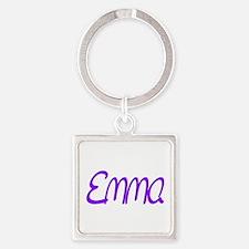 Emma Square Keychain