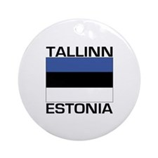 Tallinn, Estonia Ornament (Round)