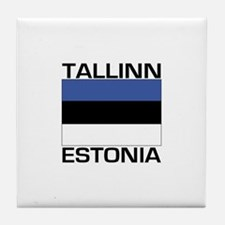 Tallinn, Estonia Tile Coaster