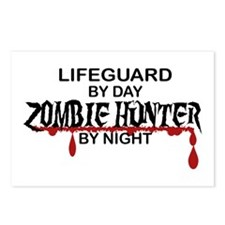 Zombie Hunter - Lifeguard Postcards (Package of 8)