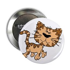 """Tiger Cat 2.25"""" Button"""