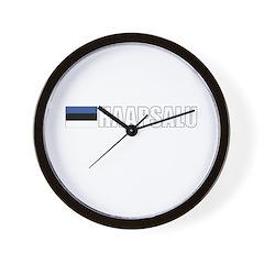 Haapsalu, Estonia Wall Clock