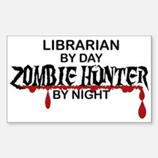 Zombie Hunter - Librarian Decal