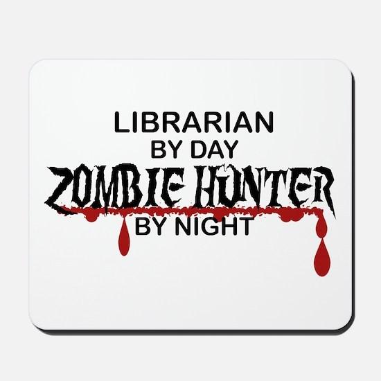 Zombie Hunter - Librarian Mousepad