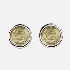 Maine Centennial Coin Cufflinks