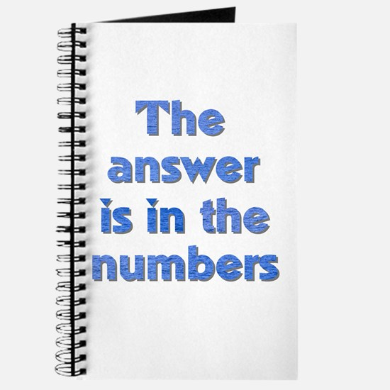 4 8 15 16 23 42 LOST Numbers gift Journal