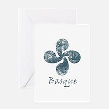 Basque Grunge Greeting Cards