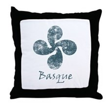 Basque Grunge Throw Pillow