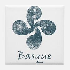 Basque Grunge Tile Coaster