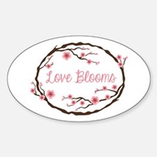 Love Blooms Decal