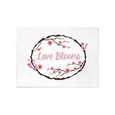Love Blooms 5'x7'Area Rug