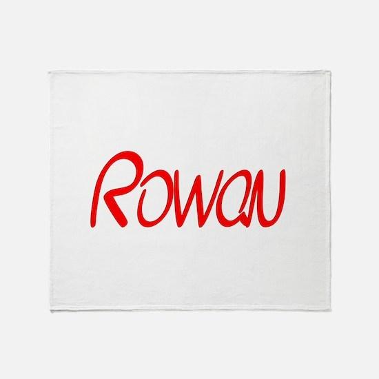 Rowan Throw Blanket