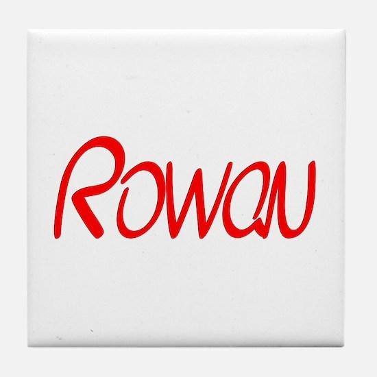 Rowan Tile Coaster