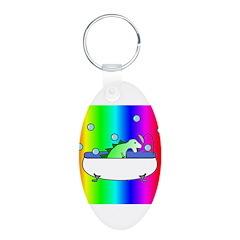 DINOSHOWER4 Keychains
