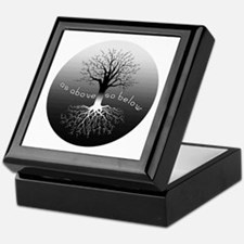 As Above So Below Keepsake Box