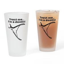 trust me dentist Drinking Glass