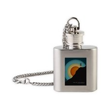 Extreme Disc Golf Flask Necklace