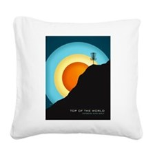 Extreme Disc Golf Square Canvas Pillow