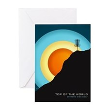 Extreme Disc Golf Greeting Cards