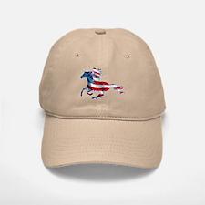 American Western Horse Cowgirl Baseball Baseball Cap