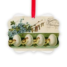 Old Russian Easter Card Ornament