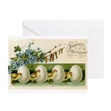 Russian easter Greeting Cards (10 Pack)