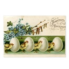 Old Russian Easter Card Postcards (Package of 8)