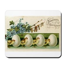 Old Russian Easter Card Mousepad