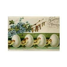 Old Russian Easter Card Magnets