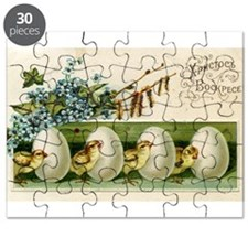 Old Russian Easter Card Puzzle