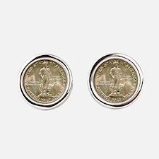 Lexington-Concord Coin Cufflinks