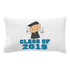 Blue Class of 2014 Grad Pillow Case
