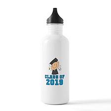 Boy Grad Class of 2016 Water Bottle