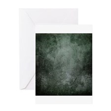 Teal grunge texture Greeting Cards