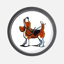 Tricolor Beagle Bay Wall Clock