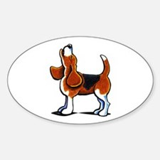 Tricolor Beagle Bay Decal
