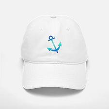 Blue Anchor Baseball Baseball Cap