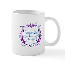 Scrapbooking Happiness Small Mug