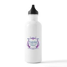 Scrapbooking Happiness Water Bottle